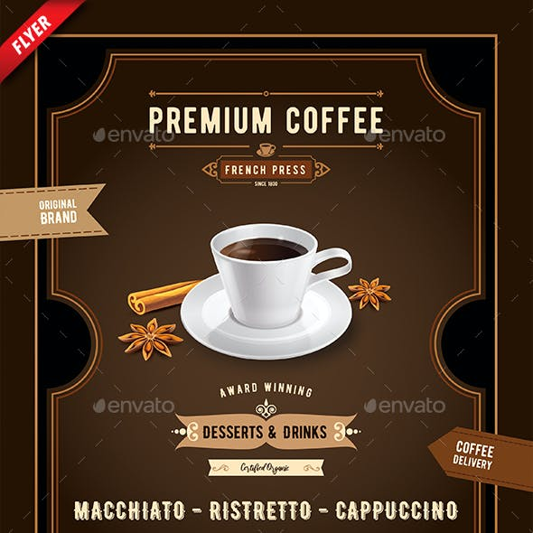 Coffee and Spice Business Flyer