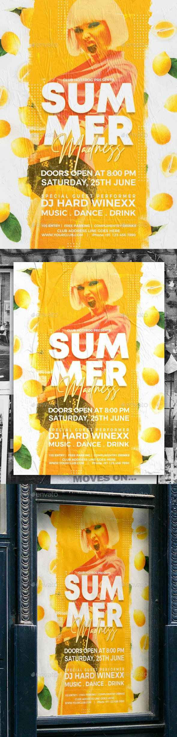 Summer Party Poster - Events Flyers