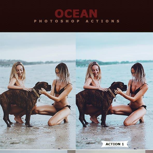 Ocean Photoshop Actions