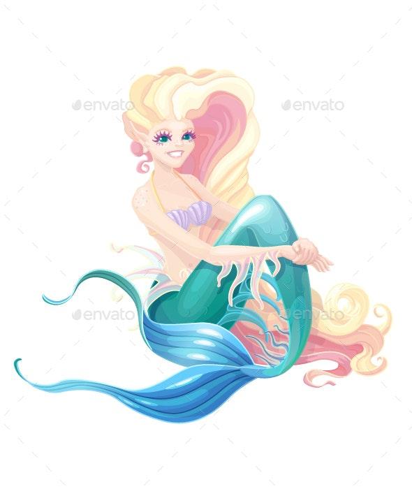 Mermaid Fairy - People Characters