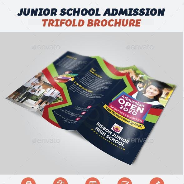 School Admission Brochure Template