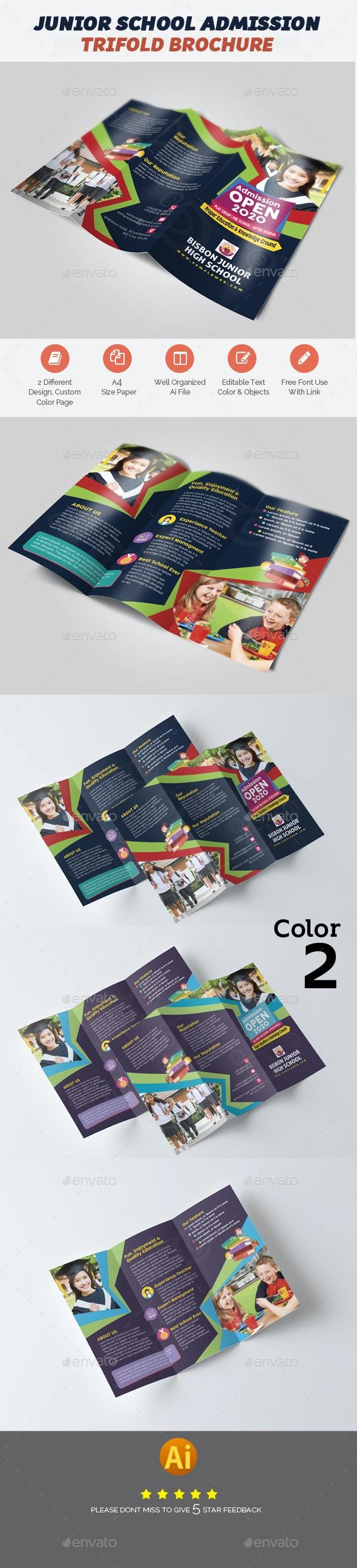 School Admission Brochure Template - Brochures Print Templates