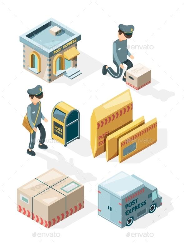 Postal Service - Miscellaneous Vectors