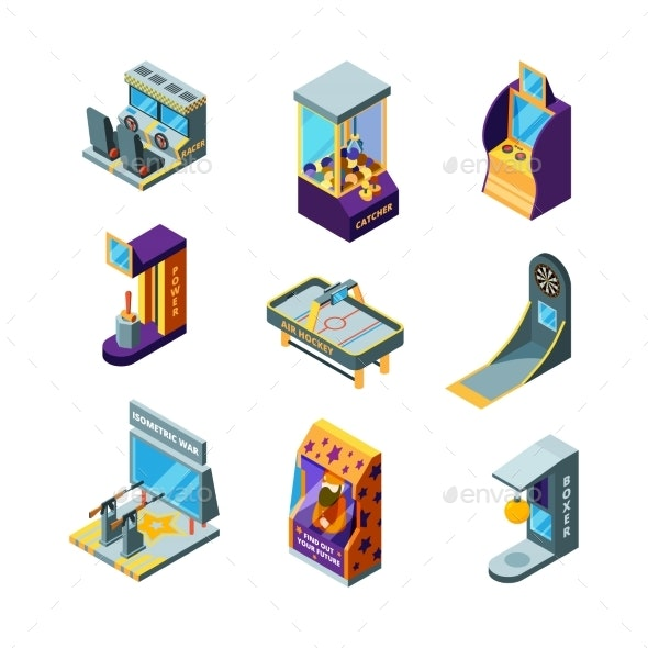 Game Machines - Man-made Objects Objects