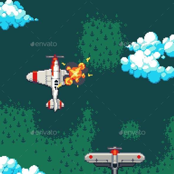 Pixelart Planes Pack