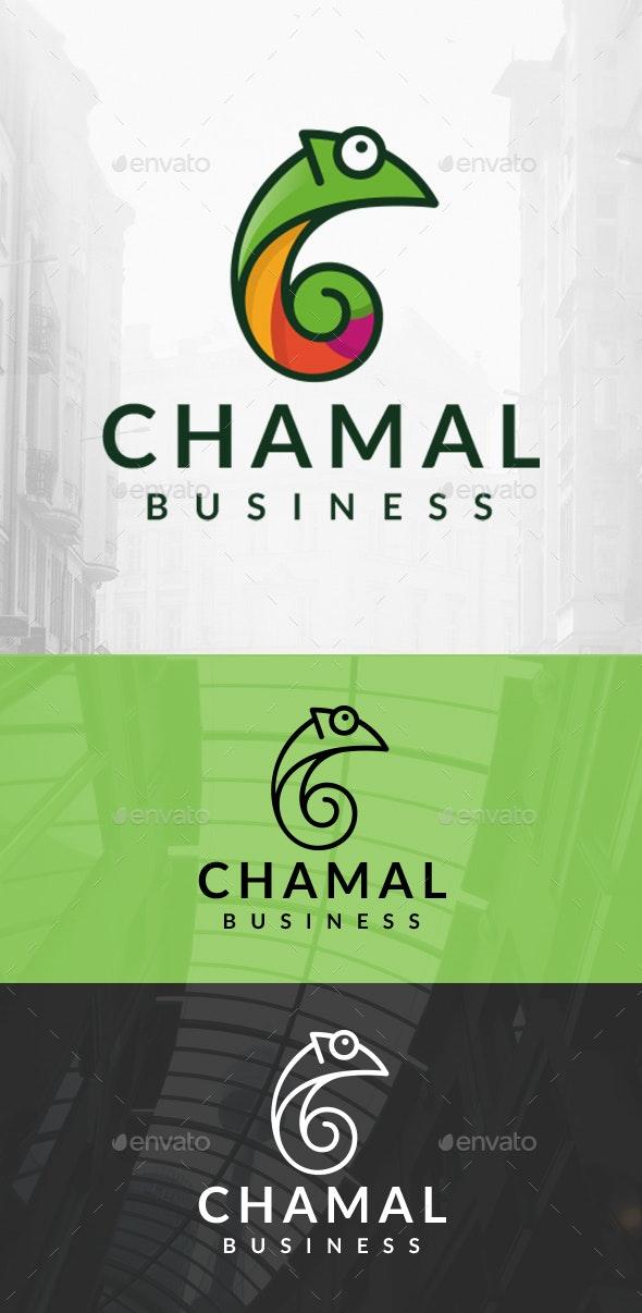 Chameleon Logo Template - Letters Logo Templates