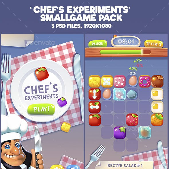 Chef Experiments Mini Game Kit