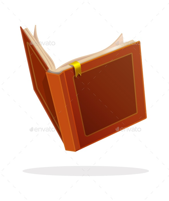 Open Book - Man-made Objects Objects