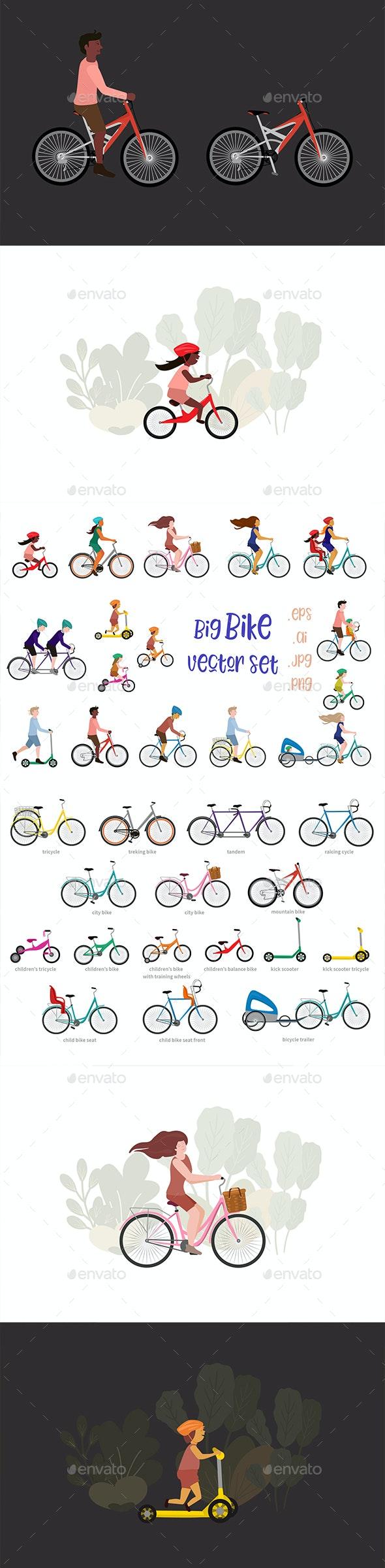 Bikes - Sports/Activity Conceptual