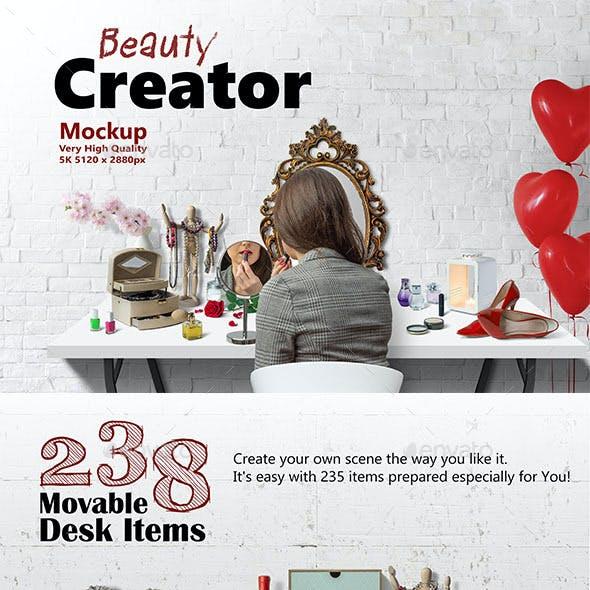 Beauty Creator 5K Mockup