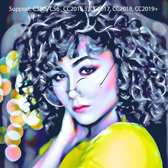 Digital Painting Effect Pro