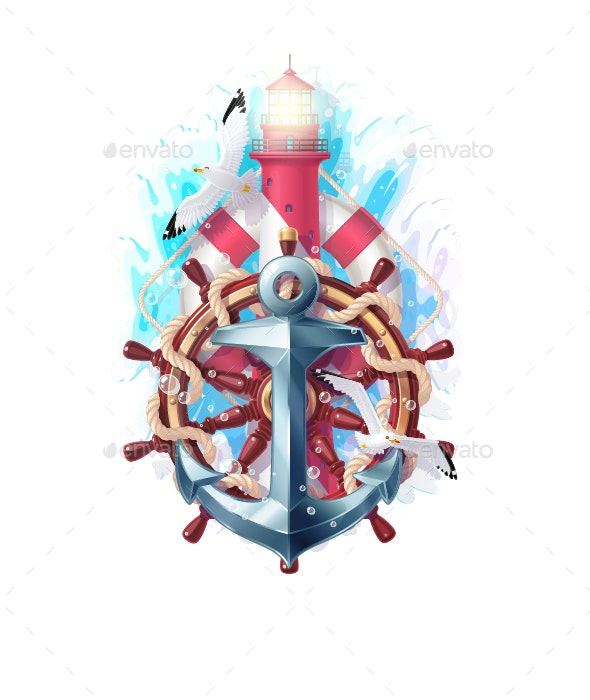 Nautical Clipart - Travel Conceptual