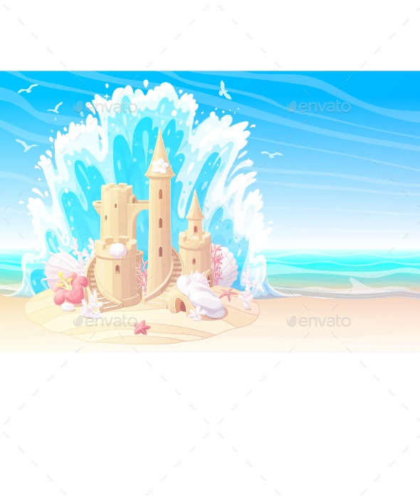 Summer Beach - Landscapes Nature