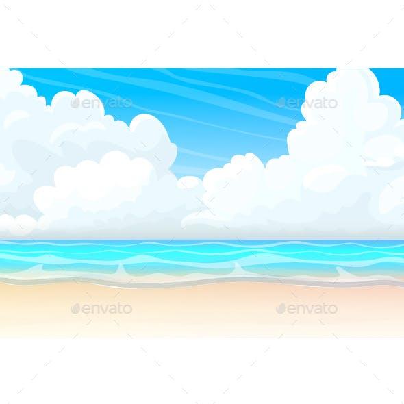 Cartoon Seascape