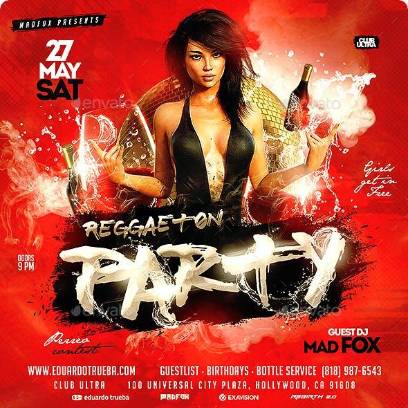 Reggaeton Party Flyer