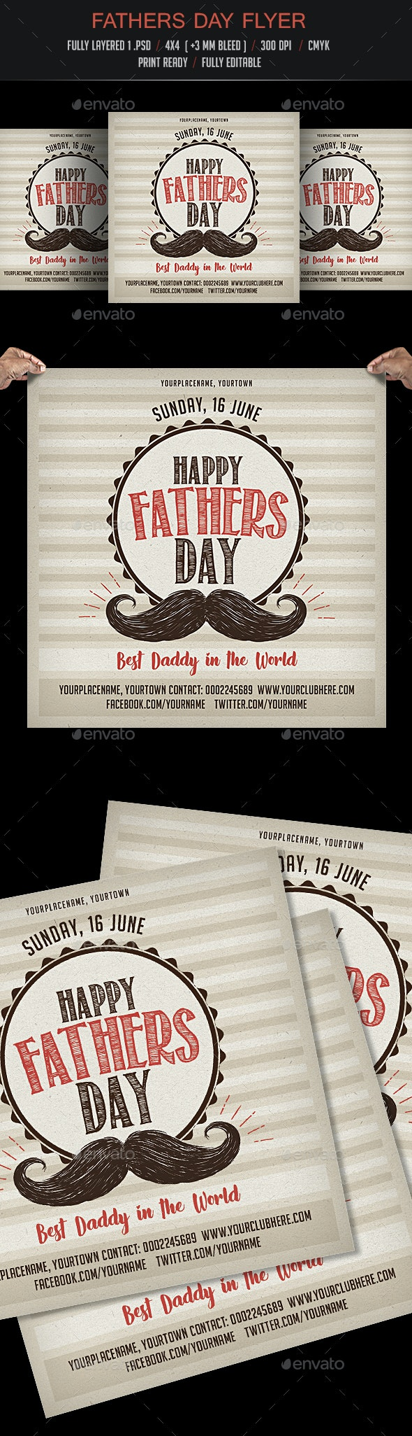 Fathers Day - Events Flyers
