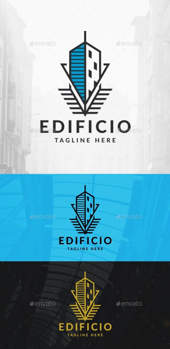 Vanguard Building Logo - Buildings Logo Templates