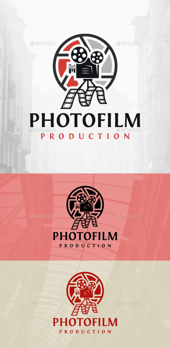 Photo Video Logo - Objects Logo Templates