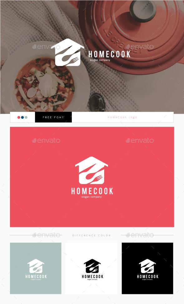 HomeCook Logo - Food Logo Templates