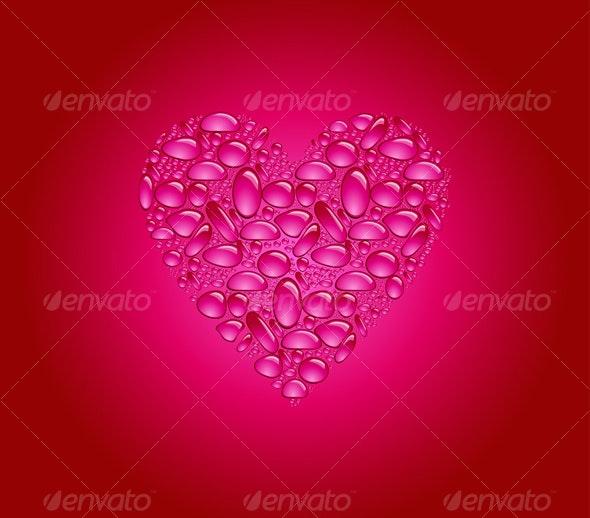 Valentine's day card  - Valentines Seasons/Holidays