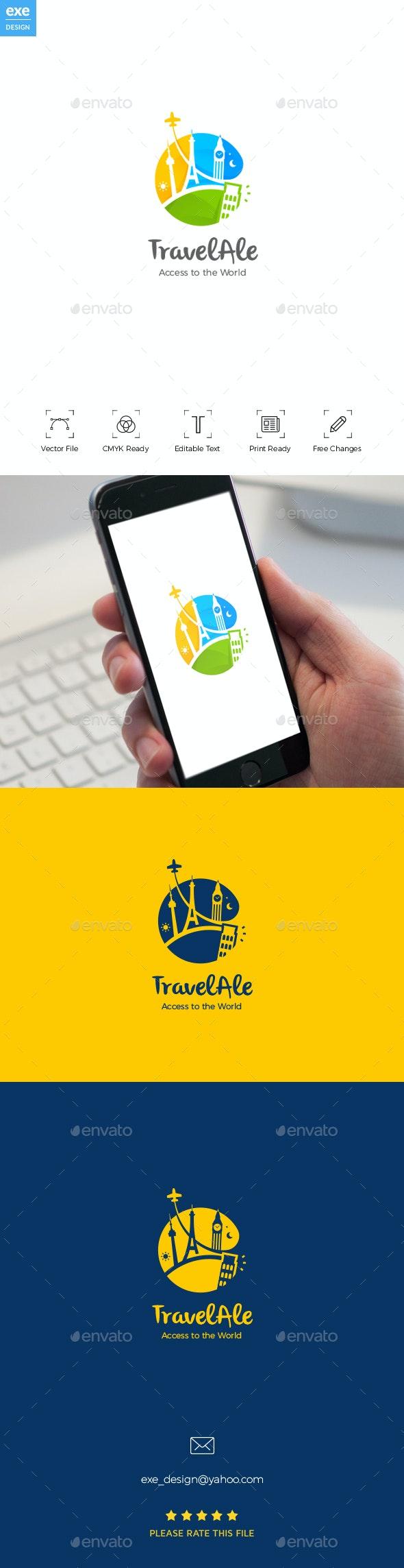 Traveling Logo - Buildings Logo Templates