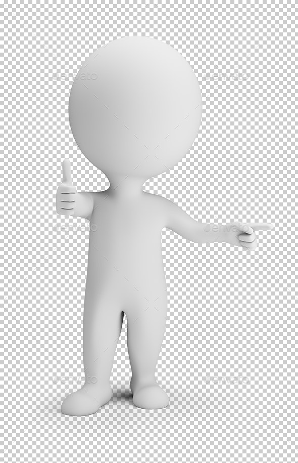 3D Small People - Thats Cool - Characters 3D Renders