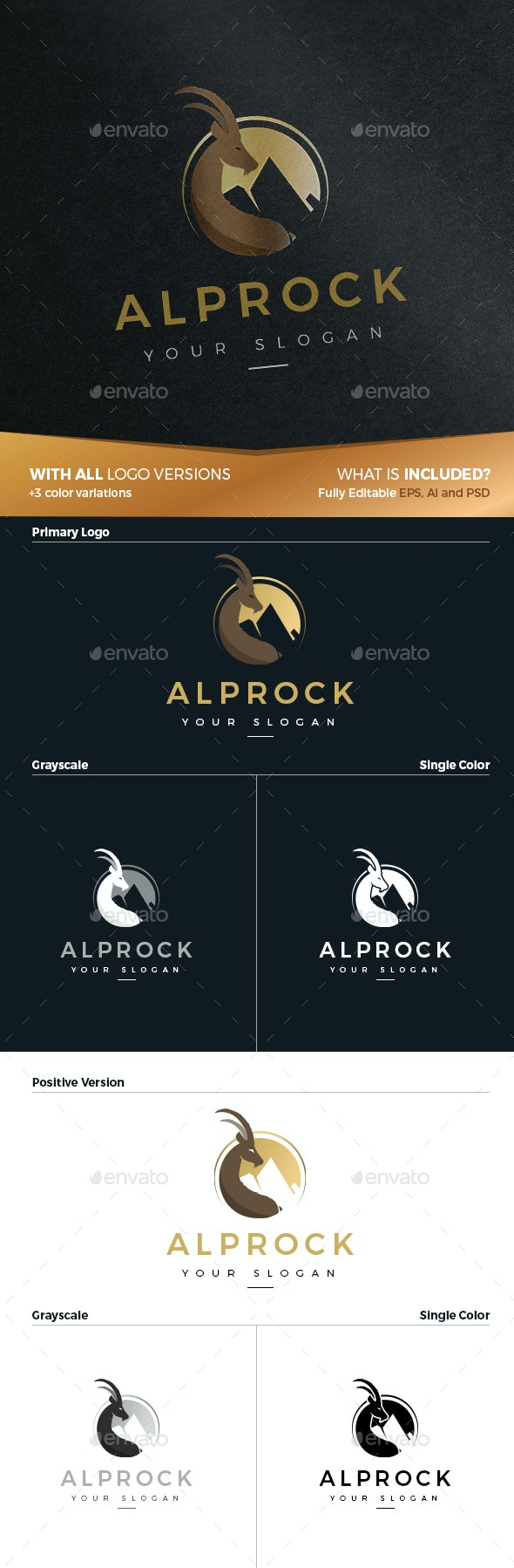 AlpRock - Animals Logo Templates