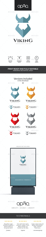 Viking Head Logo - Humans Logo Templates