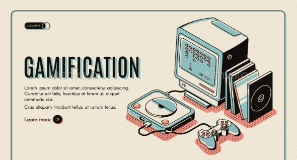 Gamification Gamer Playing Console - Media Technology