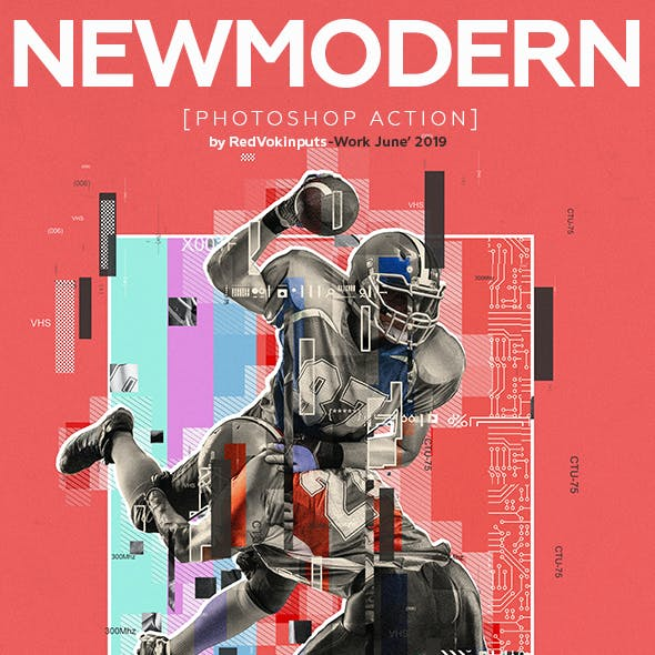 New Modern Photoshop Action