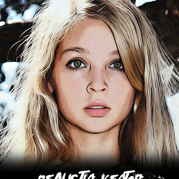 Realistic Vector Drawing Effect