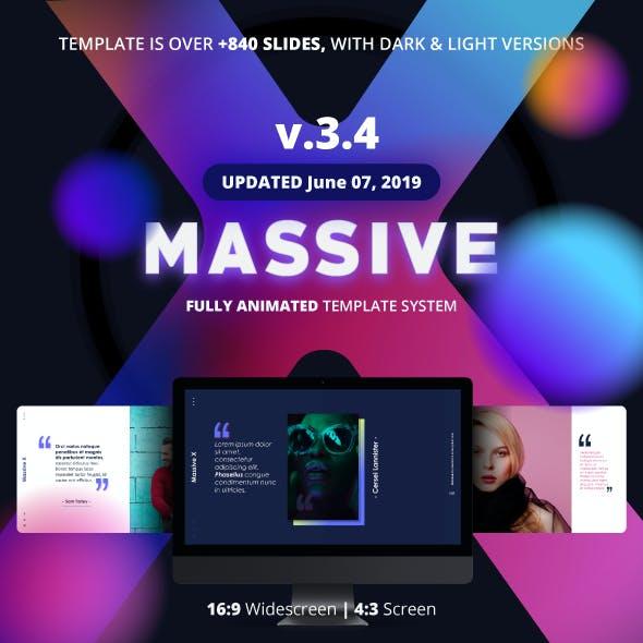 Massive X Presentation Template v.3.4