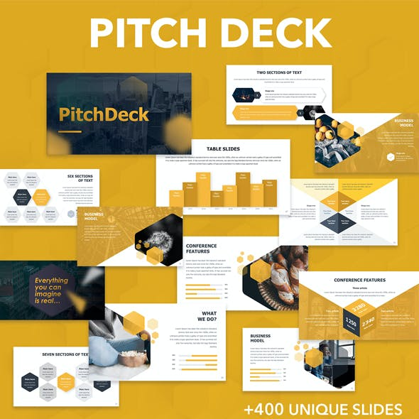 Pitch Deck Business Powerpoint Template