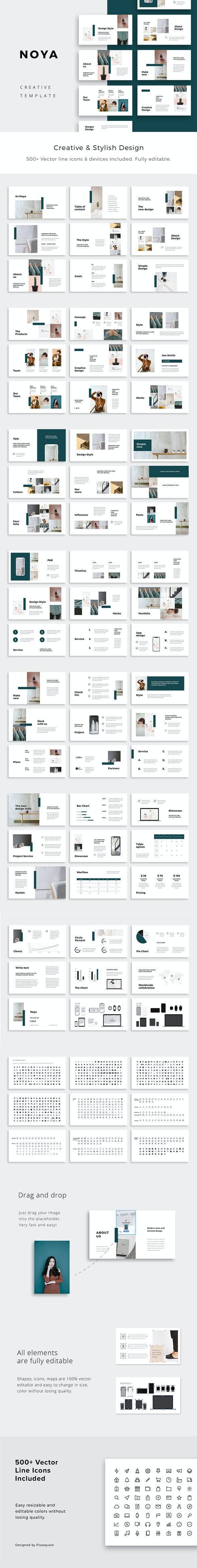 NOYA - Powerpoint Presentation Template - Creative PowerPoint Templates