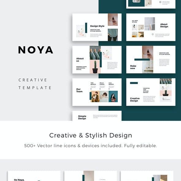 NOYA - Keynote Presentation Template
