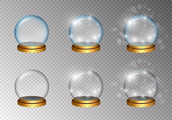 Magic Glass Ball Set in Two Colors - Man-made Objects Objects