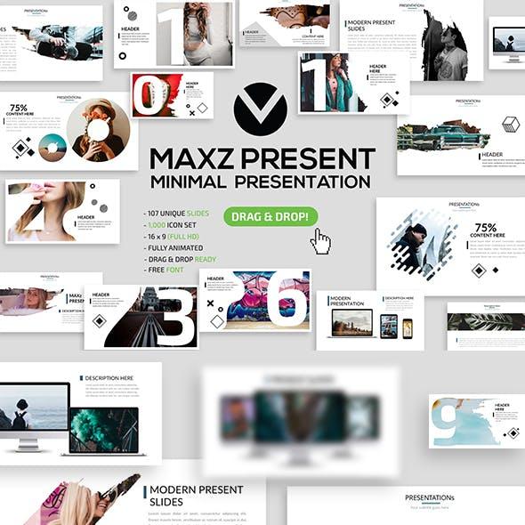 Maxz Minimal Powerpoint Templates