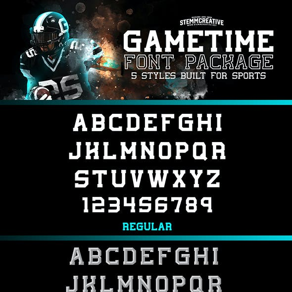 GameTime Typeface