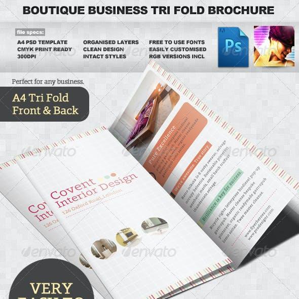 Tri Fold Brochure Template Graphics, Designs & Templates
