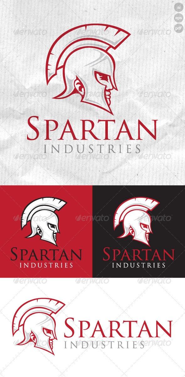 Spartan Industries Logo - Humans Logo Templates