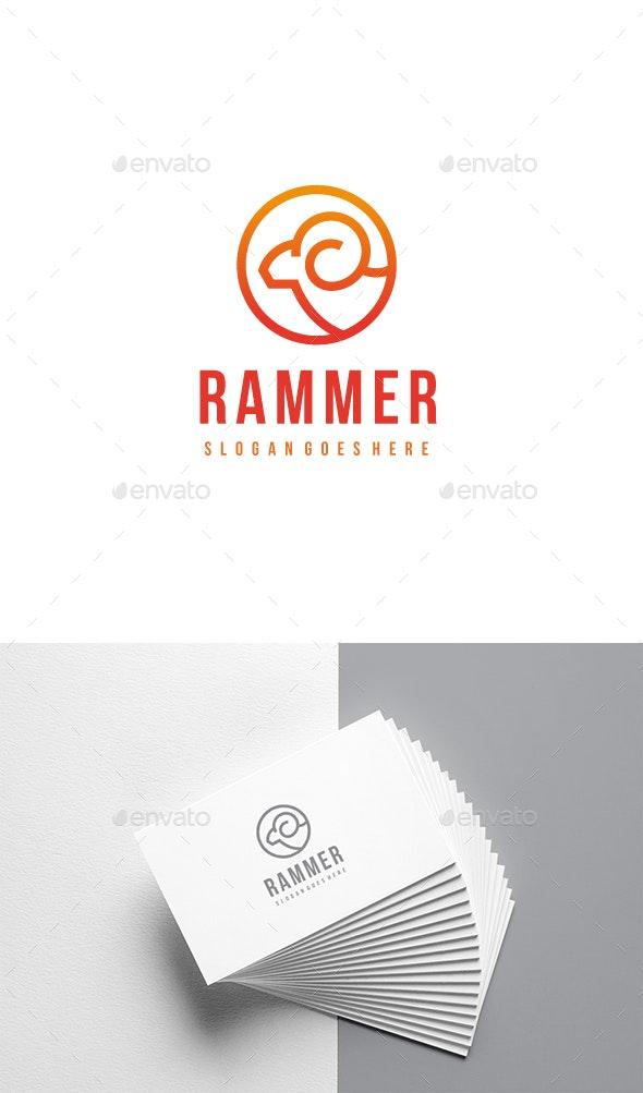Ram Logo - Animals Logo Templates
