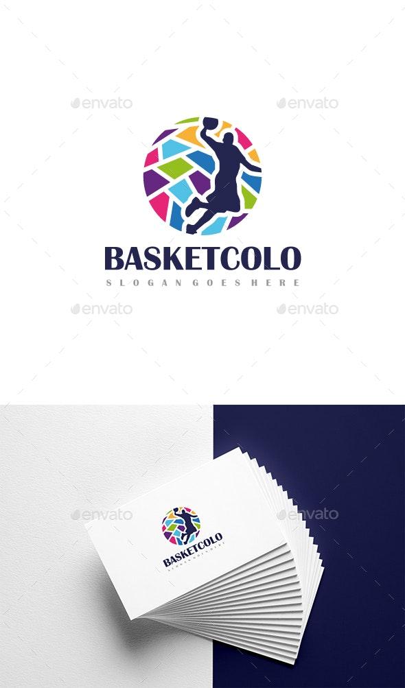 Basketball Logo - Abstract Logo Templates