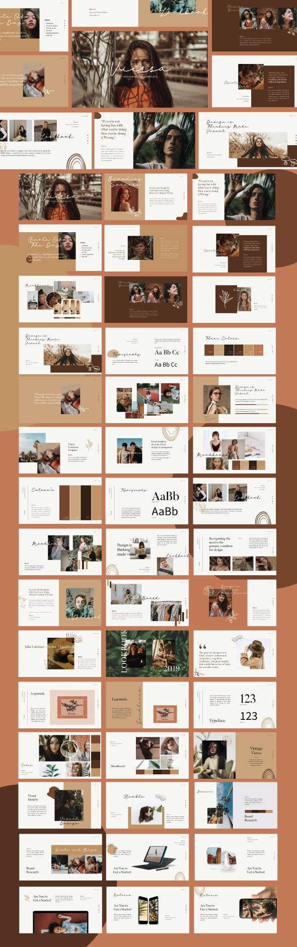Viersa Brand Sheet Powerpoint - Creative PowerPoint Templates