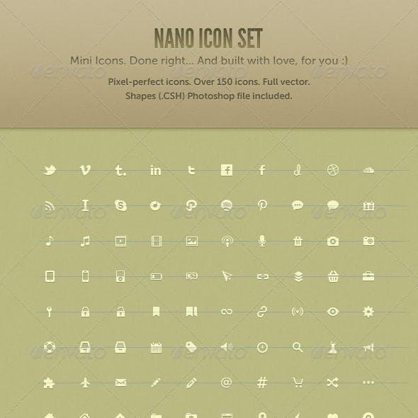 Nano Icon Set