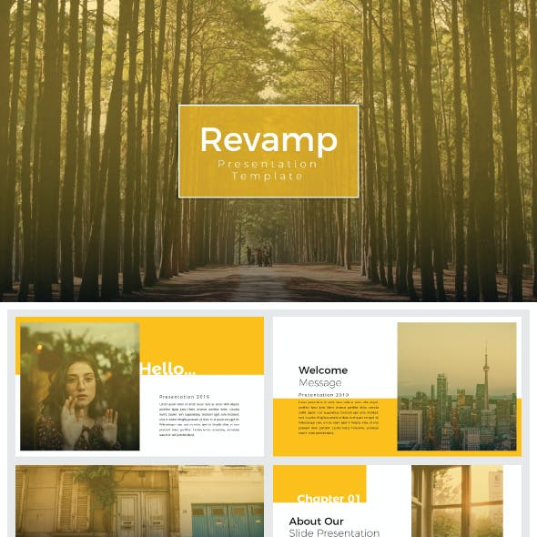 Revamp - Google Slide Templates