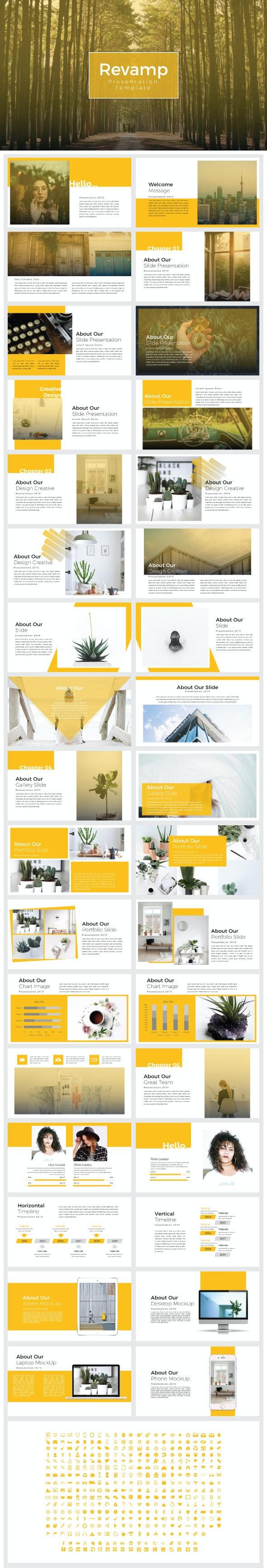 Revamp - Google Slide Templates - Google Slides Presentation Templates