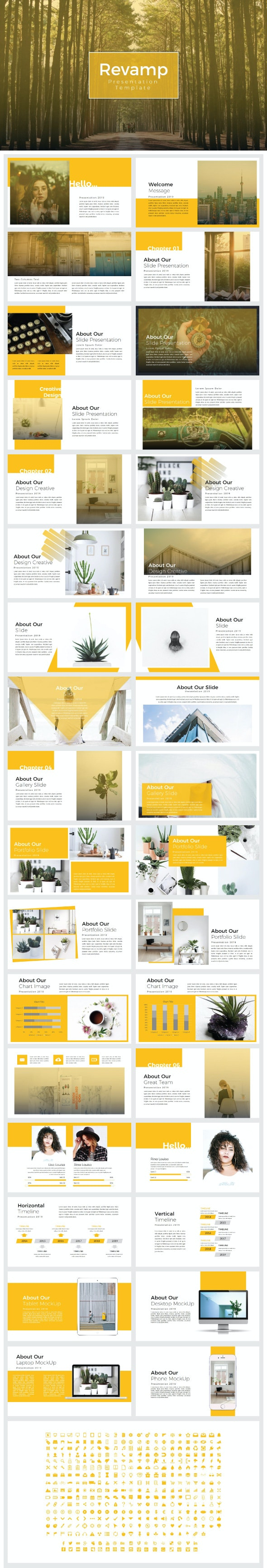 Revamp - Presentation Templates - Creative PowerPoint Templates
