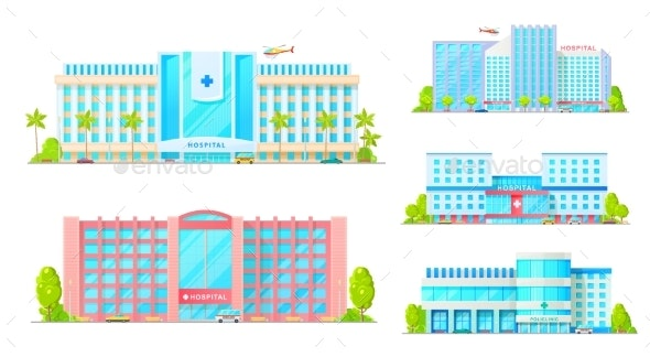 Healthcare Buildings - Buildings Objects