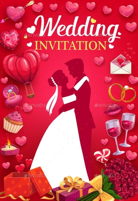 Invitation to Wedding Party - Weddings Seasons/Holidays