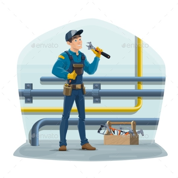 Plumber Worker - Services Commercial / Shopping